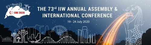 The 73rd IIW Annual Assembly and International Conference